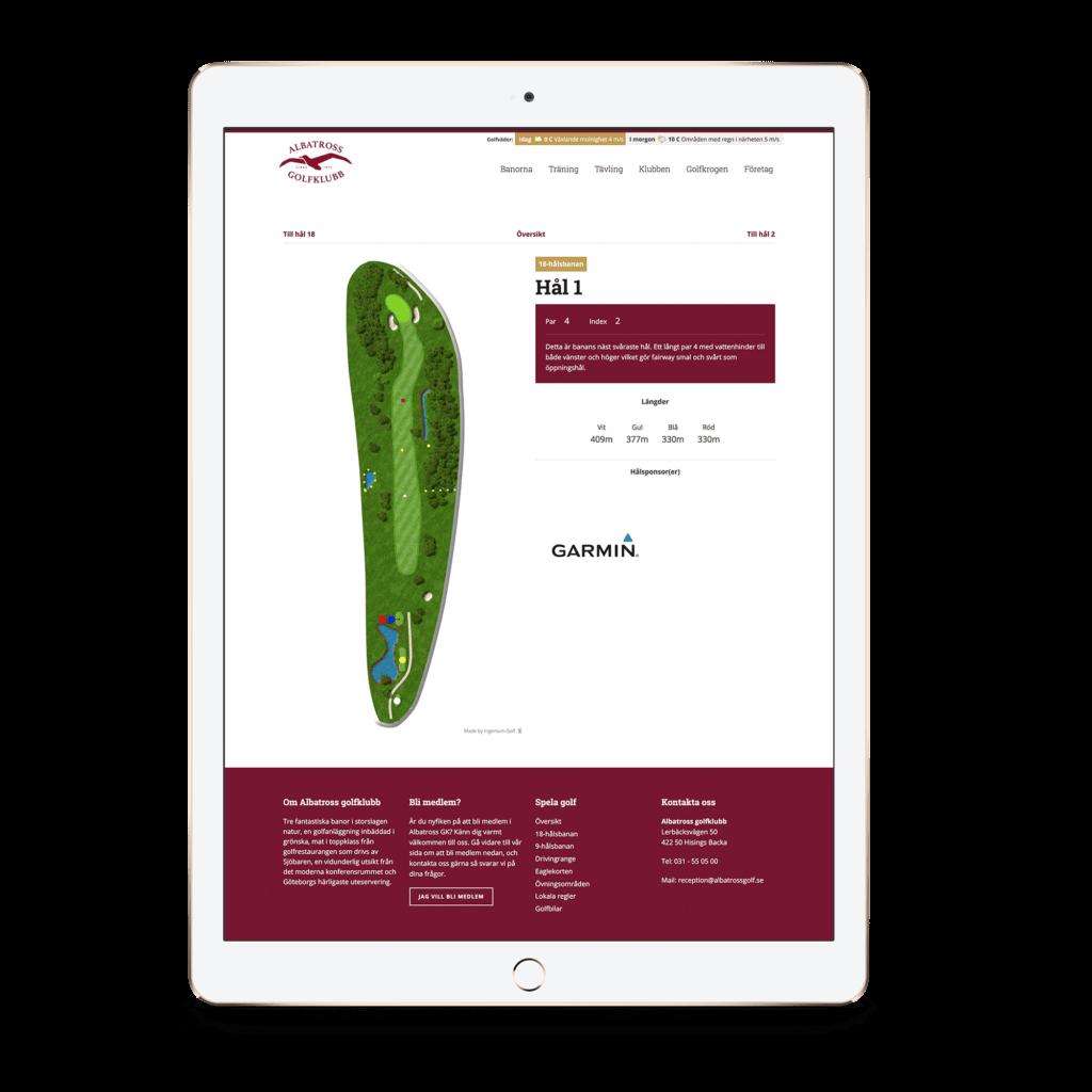 Albatross Course Guide - iPad
